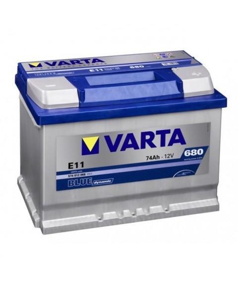 AKU 74AH 680EN 12V +- VARTA