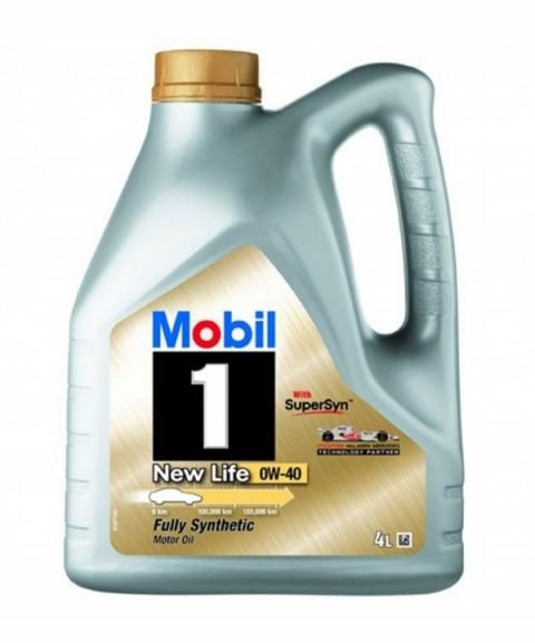 Mobil 0W40 4L MOBIL1 NEW LIFE