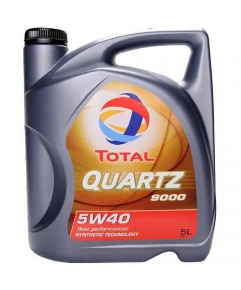 Total 5W40 5L QUARTZ 9000 NF
