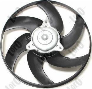 ABAKUS 009-014-0008 - Ventilaator,mootorijahutus multiparts.ee