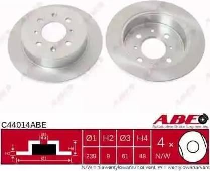 ABE C44014ABE - Piduriketas multiparts.ee