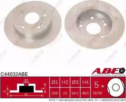 ABE C44032ABE - Piduriketas multiparts.ee
