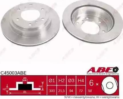 ABE C45003ABE - Piduriketas multiparts.ee