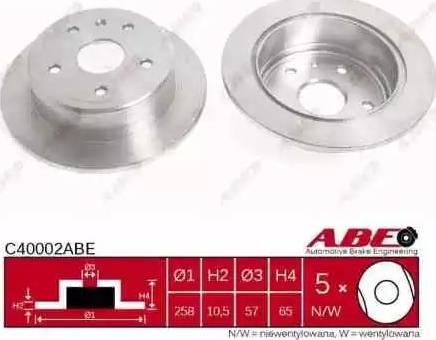 ABE C40002ABE - Piduriketas multiparts.ee