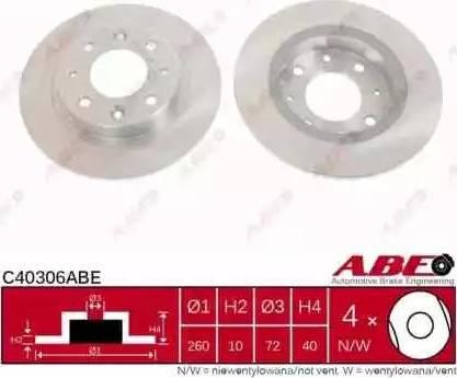 ABE C40306ABE - Piduriketas multiparts.ee