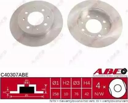 ABE C40307ABE - Piduriketas multiparts.ee