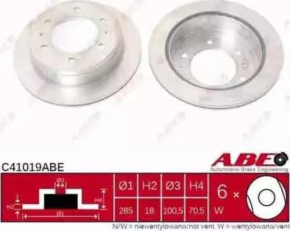 ABE C41019ABE - Piduriketas multiparts.ee