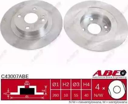 ABE C43007ABE - Piduriketas multiparts.ee