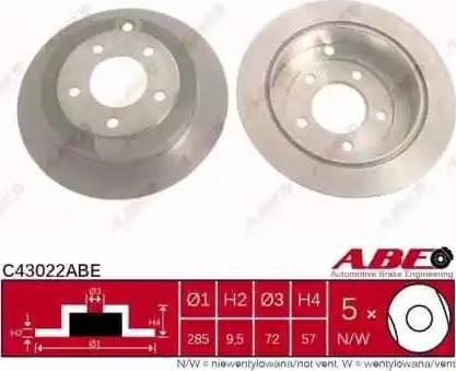 ABE C43022ABE - Piduriketas multiparts.ee