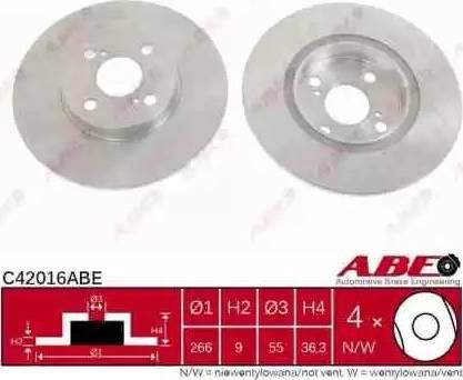 ABE C42016ABE - Piduriketas multiparts.ee