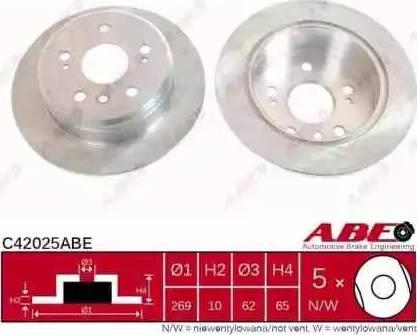 ABE C42025ABE - Piduriketas multiparts.ee