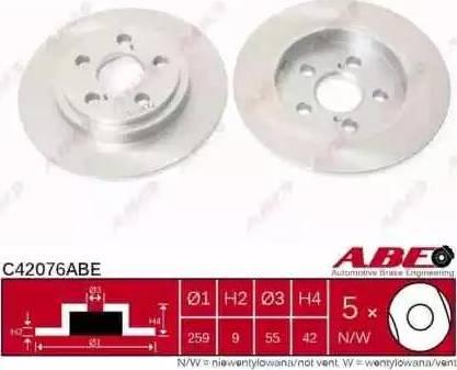 ABE C42076ABE - Piduriketas multiparts.ee