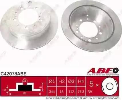 ABE C42078ABE - Piduriketas multiparts.ee