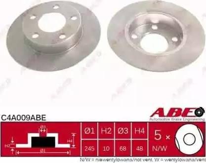 ABE C4A009ABE - Piduriketas multiparts.ee