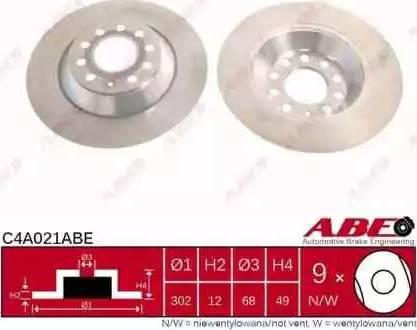 ABE C4A021ABE - Piduriketas multiparts.ee