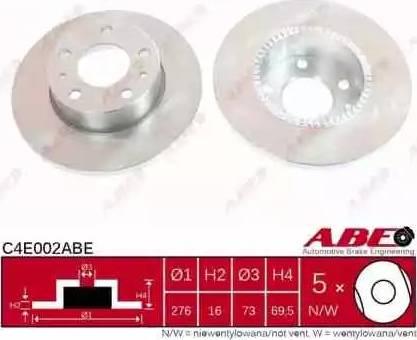 ABE C4E002ABE - Piduriketas multiparts.ee