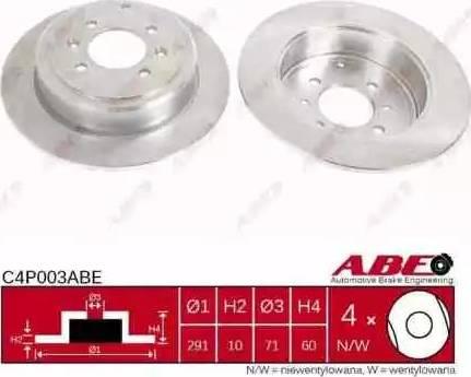ABE C4P003ABE - Piduriketas multiparts.ee