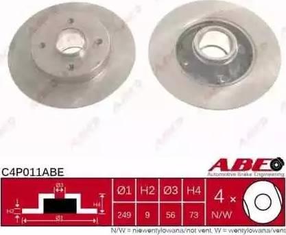 ABE C4P011ABE - Piduriketas multiparts.ee