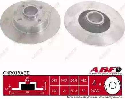 ABE C4R018ABE - Piduriketas multiparts.ee