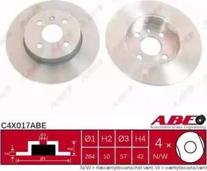 ABE C4X017ABE - Piduriketas multiparts.ee