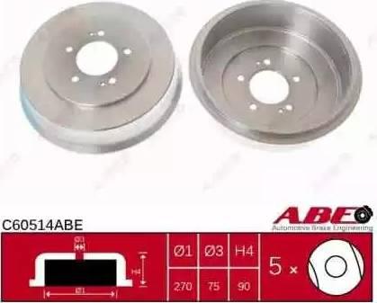ABE C60514ABE - Piduritrummel multiparts.ee