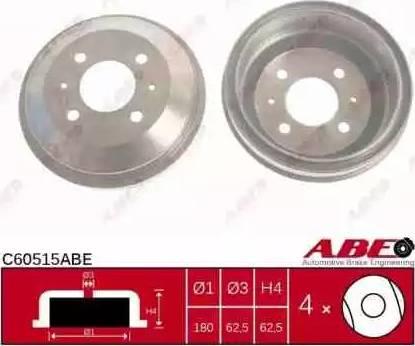ABE C60515ABE - Piduritrummel multiparts.ee