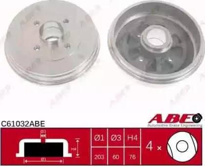 ABE C61032ABE - Piduritrummel multiparts.ee