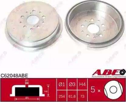 ABE C62048ABE - Piduritrummel multiparts.ee