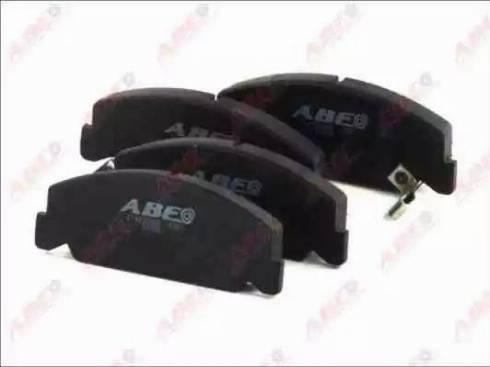 ABE C14035ABE - Piduriklotsi komplekt,ketaspidur multiparts.ee