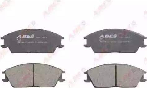 ABE C14020ABE - Piduriklotsi komplekt,ketaspidur multiparts.ee