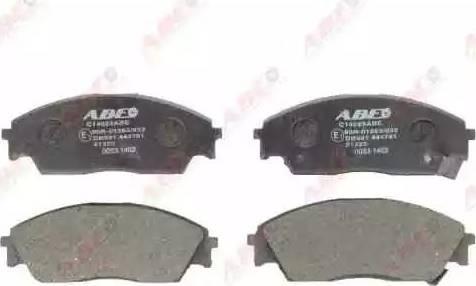 ABE C14023ABE - Piduriklotsi komplekt,ketaspidur multiparts.ee