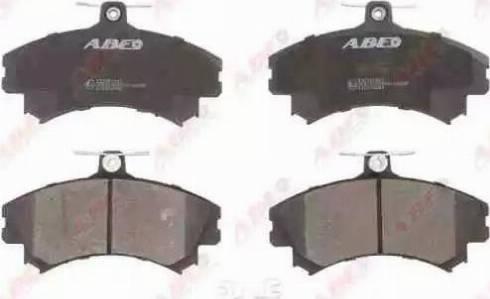 ABE C15036ABE - Piduriklotsi komplekt,ketaspidur multiparts.ee
