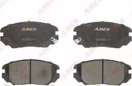 ABE C10517ABE - Piduriklotsi komplekt,ketaspidur multiparts.ee