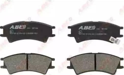 ABE C10525ABE - Piduriklotsi komplekt,ketaspidur multiparts.ee