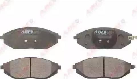 ABE C10024ABE - Piduriklotsi komplekt,ketaspidur multiparts.ee
