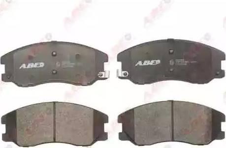 ABE C10020ABE - Piduriklotsi komplekt,ketaspidur multiparts.ee