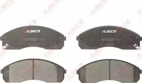 ABE C10316ABE - Piduriklotsi komplekt,ketaspidur multiparts.ee