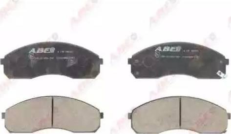ABE C10318ABE - Piduriklotsi komplekt,ketaspidur multiparts.ee