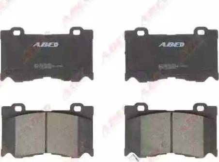 ABE C11095ABE - Piduriklotsi komplekt,ketaspidur multiparts.ee
