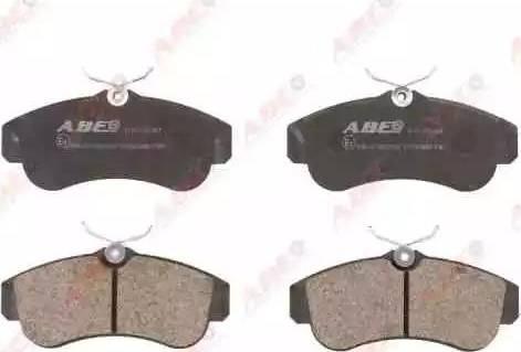 ABE C11051ABE - Piduriklotsi komplekt,ketaspidur multiparts.ee