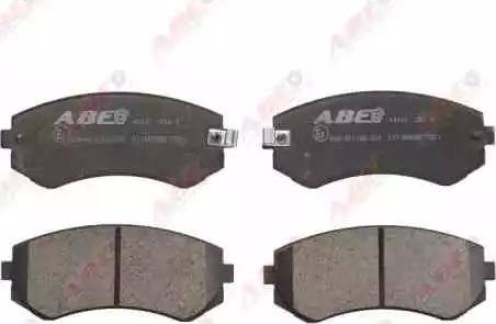 ABE C11058ABE - Piduriklotsi komplekt,ketaspidur multiparts.ee