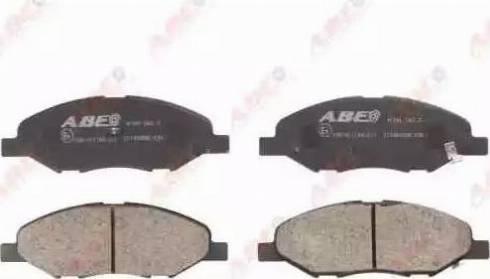 ABE C11080ABE - Piduriklotsi komplekt,ketaspidur multiparts.ee