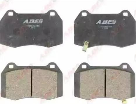 ABE C11088ABE - Piduriklotsi komplekt,ketaspidur multiparts.ee