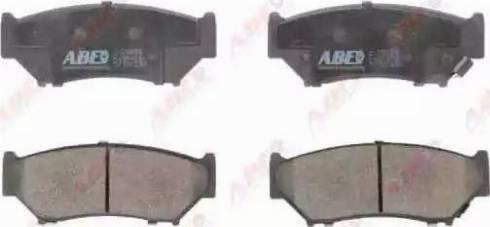 ABE C18009ABE - Piduriklotsi komplekt,ketaspidur multiparts.ee