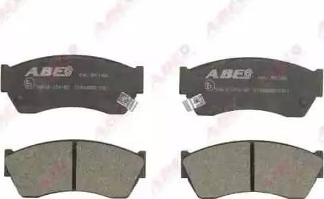 ABE C18005ABE - Piduriklotsi komplekt,ketaspidur multiparts.ee