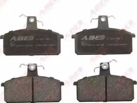 ABE C18013ABE - Piduriklotsi komplekt,ketaspidur multiparts.ee