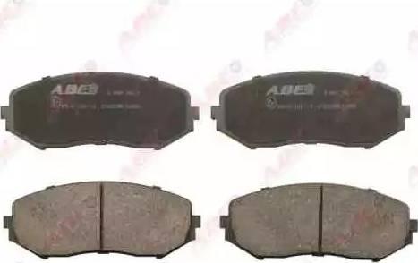 ABE C18021ABE - Piduriklotsi komplekt,ketaspidur multiparts.ee