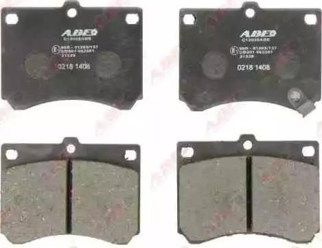 ABE C13035ABE - Piduriklotsi komplekt,ketaspidur multiparts.ee