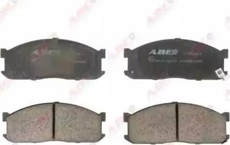ABE C13025ABE - Piduriklotsi komplekt,ketaspidur multiparts.ee