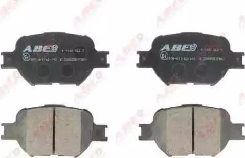 ABE C12092ABE - Piduriklotsi komplekt,ketaspidur multiparts.ee